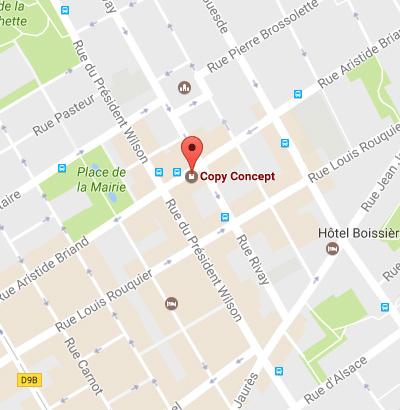 Copy Concept 88 Rue Aristide Briand, 92300 Levallois-Perret