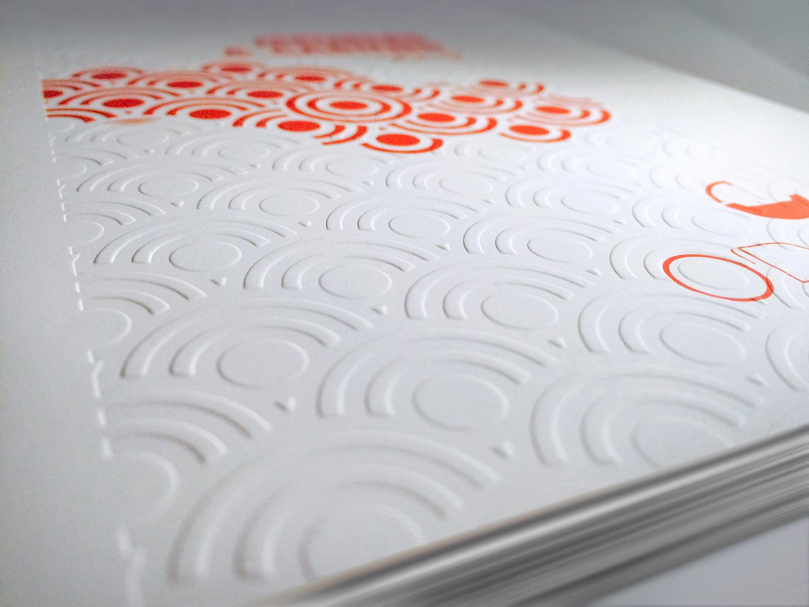Façonnage gauffrage - imprimerie copie Copy Concept 92